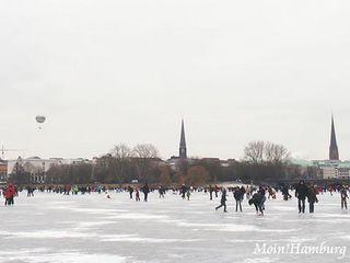 冬のアルスター湖祭り