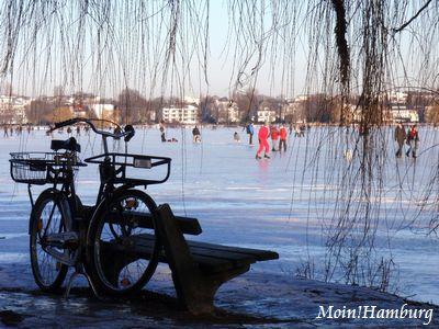 アルスター湖の冬
