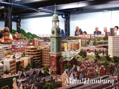 ハンブルク 倉庫街のミニチュア・ワンダーランド